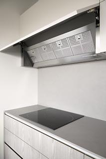 campana integrada en cocina
