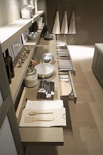 mesa de trabajo cocina