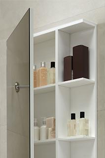 mueble de bano con espejo