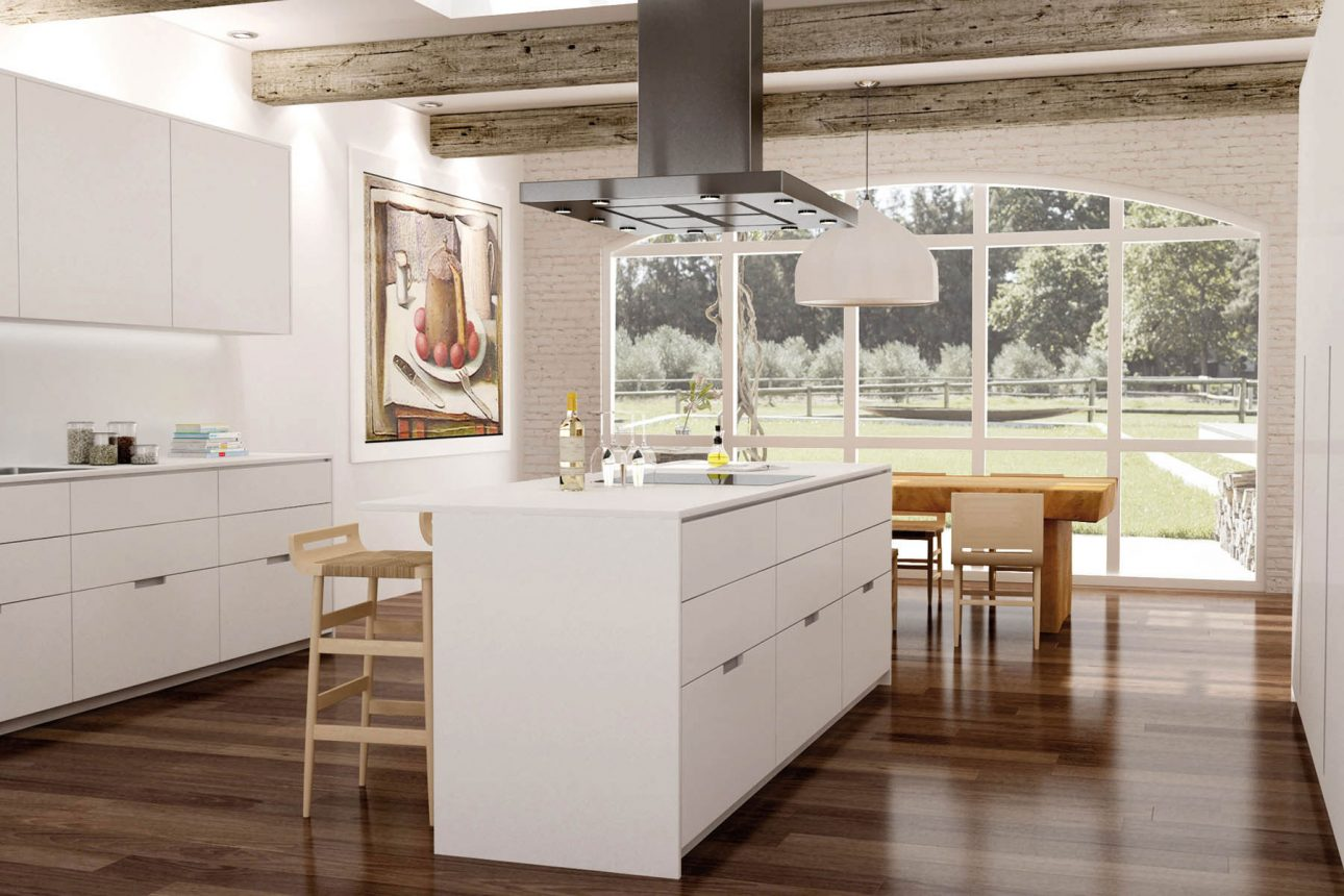 Next la cocina con y sin tiradores graden for Muebles de cocina bauhaus