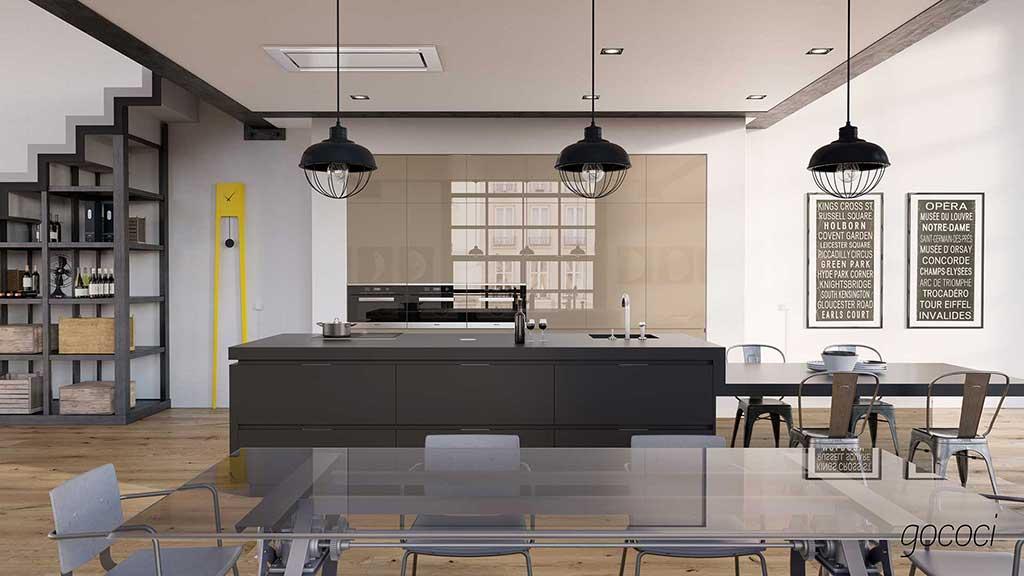 Muebles de cocina a medida en Madrid | Graden
