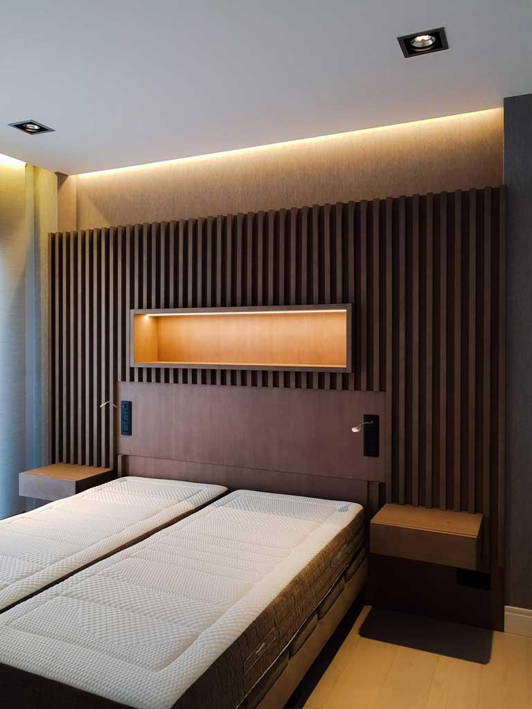 Cabecero de diseño para dormitorio