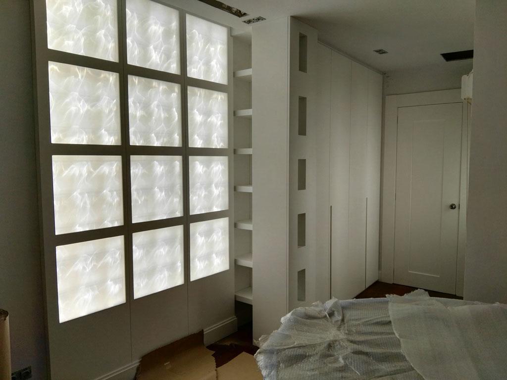 Carpintería especial para dormitorio