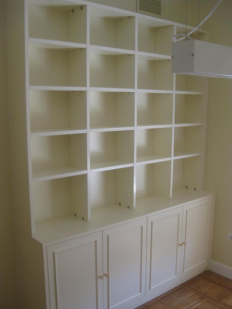 Libreria estanteria blanca para salón