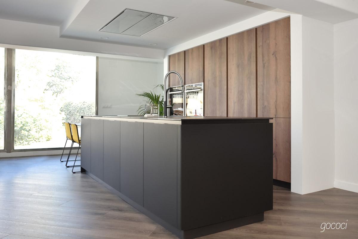 diseño de cocinas con isla gococi