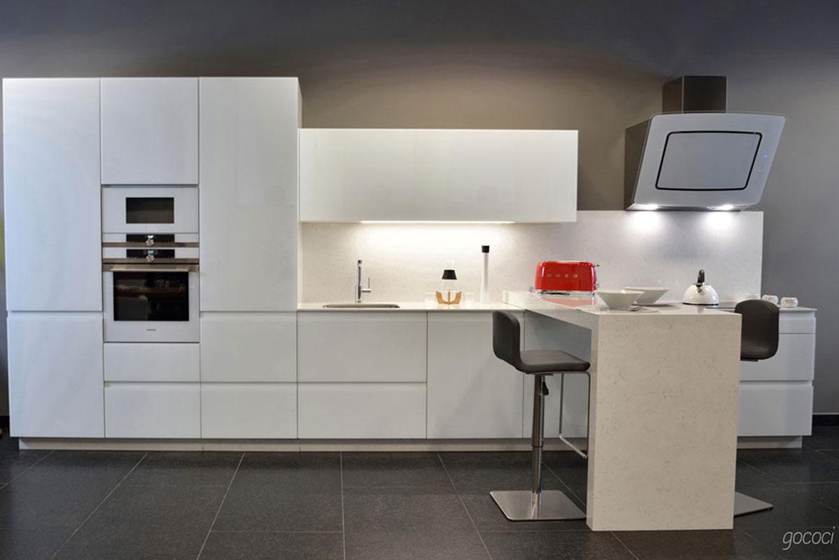 cocinas de diseño elegante