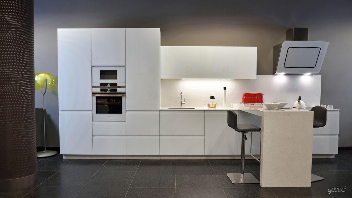 diseño elegante de muebles de cocina