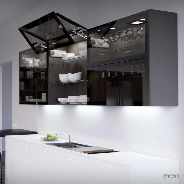 cocina a medida iluminacion