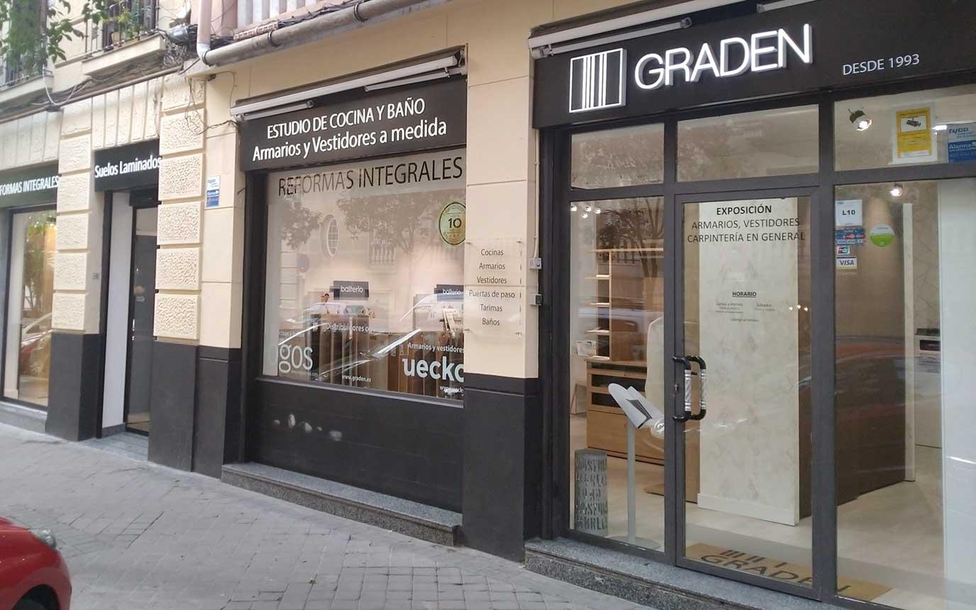 Tienda de armarios en Madrid - Gradén
