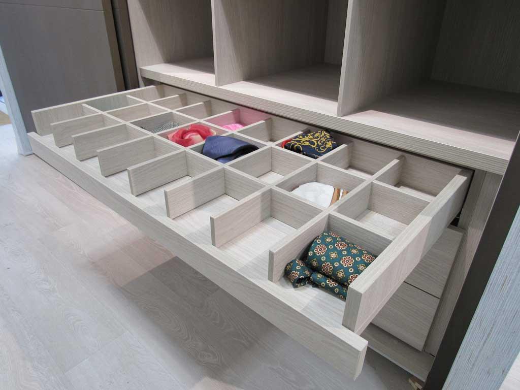 Cajones e interiores personalizados